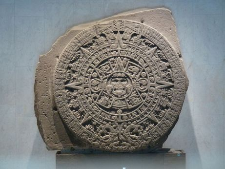 Aztec Calendar sunstone