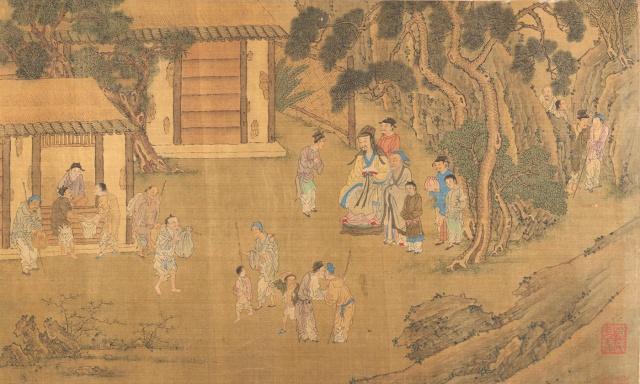 <p><em>Family Training,</em> unknown artist, Ming (1368-1644) or Qing (1644-1911) dynasty. <em>Courtesy the Met Museum, New York</em></p>